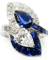 271 best jewellery styles sapphire images on pinterest antique