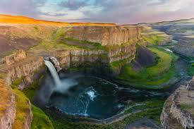 palouse falls whitman county washington palouse falls in