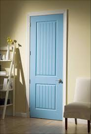 doors country style solid wood doors interior in blue paint wooden