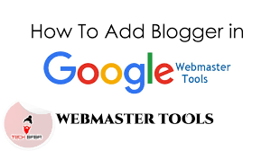 how to add blogger blog to google webmaster tech baba