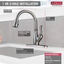 kitchen faucet review delta leland kitchen faucet reviews 28 images delta 9178 dst