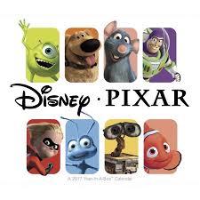 disney desk calendar 2017 disney pixar desk calendar walmart com