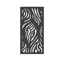 allure aluminum worthington 4 ft x 6 ft black aluminum 3 rail fence panel the home depot