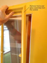 replace glass in window how to replace a glass frame in an exterior door
