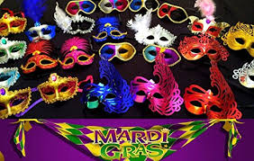 bulk mardi gras wholesale lot of 10 mardi gras masks masquerade party