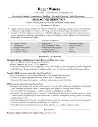 Sample Resume Investment Banking Resume Samples Basic To Professional Resumeyard