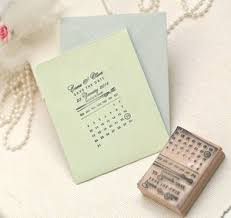 Save The Date Stamps Save The Date Stamp