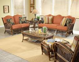 wicker living room chairs enjoyable design ideas sunroom furniture sets rattan and wicker