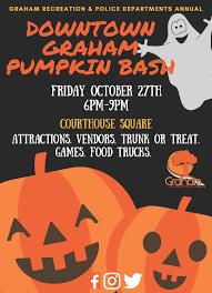 downtown graham pumpkin bash