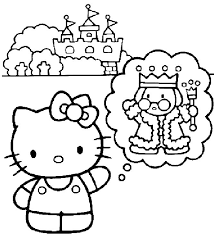 59 kitty images coloring sheets