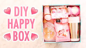 gift idea for a diy box of happy just because gift idea hgtv handmade