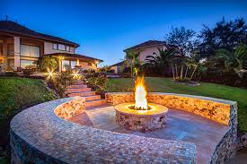custom outdoor fire pits creekstone outdoor living houston outdoor kitchens patio covers