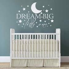 aliexpress com buy dream big one with stars baby nursery