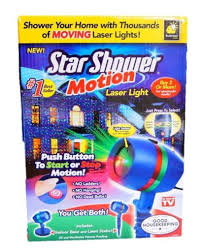 Home Button Decorations Amazon Com Star Shower As Seen On Tv Motion Laser Lights Star