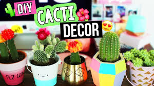 cactus home decor diy cactus succulent decor youtube
