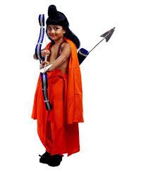 sbd lord laxman fancy dress costume for kids buy sbd lord laxman