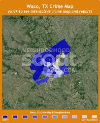 map waco waco tx crime rates and statistics neighborhoodscout
