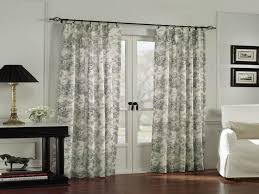 Door Panel Curtains Kitchen Patio Door Window Treatments Panel Curtains For Sliding