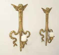 Sconce Candle Brass Candle Sconces Ebay