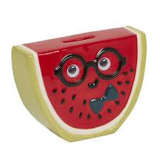 slice watermelon money box
