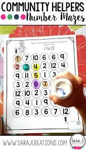 printable community helpers masks preschool worksheets flashcards