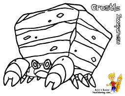 quick pokemon black and white coloring pages drilbur scrafty