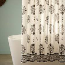 Black And White Paisley Shower Curtain - paisley shower curtains you u0027ll love wayfair