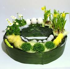 Easter Floral Table Decorations by