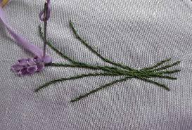 silk ribbon embroidery silk ribbon embroidery lavender in silk ribbon