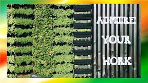 fall making a vertical garden how to grow a vertical garden some