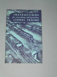 1949 lionel trains set instruction manual u2022 17 99 picclick