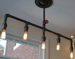Bar Light Fixtures Industrial Lighting Etsy