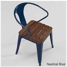 Stackable Patio Chairs Stackable Patio Chairs Metal Wood Vintage Industrial Retro Outdoor