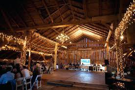 barn wedding decoration ideas barn wedding decor ideas how to light a rustic chic banners lights