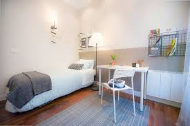 single bed in rooms for rent in modern 3 bedroom apartment with