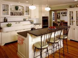 kitchen island with seating butcher block two tone kitchen cabinet