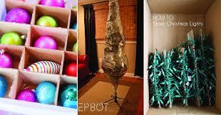 how to store christmas lights 13 smarta knep för att förvara allt julpynt fram till nästa jul