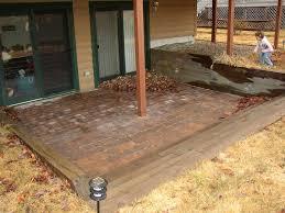 Sunken Patio Drainage For Sunken Patio Lawnsite