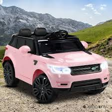Range Rover Inspired Kids Motorised Ride On Car With Safety