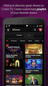 free downloads android colorstv for android free