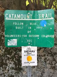 Colorado Springs Trail Map by The Catamount Trails At Green Mountain Falls Colorado