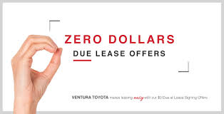 toyota lease 0 due lease offers