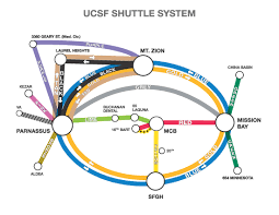 San Jose Bus Routes Map by Ucsf Campus Life Services Transportation