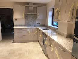 Modern Luxury Kitchen With Granite Countertop Colonial White Granite Countertops Pictures Cost Pros And Cons
