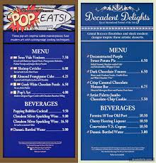 menu boards and prices for epcot u0027s 2017 festival of the arts