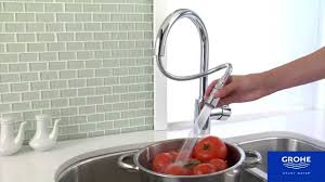 grohe concetto kitchen faucet supersteel best faucets decoration