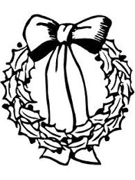 present christmas tree coloring pages kids