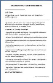 Pharmaceutical Resume Samples by Pharmaceutical Sales Resume Example Resume Examples Sample