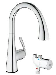 grohe ladylux3 café touch pull down kitchen faucet with touch