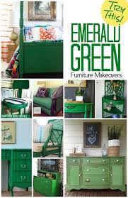 green bureau try this emerald green furniture makeovers bureaus emeralds